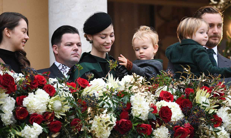 La familia Grimaldi, sin Carlota Casiraghi, se reúne en el Día Nacional de Mónaco