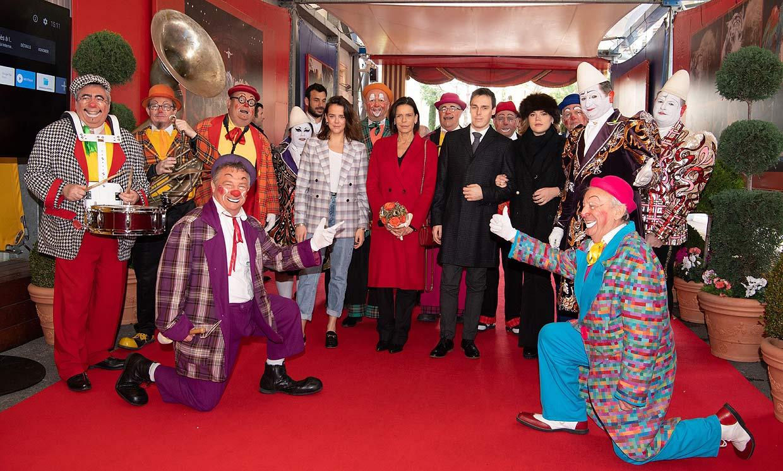 Estefanía de Mónaco y sus hijos, fieles a una de sus tradiciones preferidas: ¡el circo!