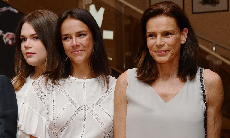 Como en los viejos tiempos: Estefanía de Mónaco vuelve a vivir con sus dos hijas