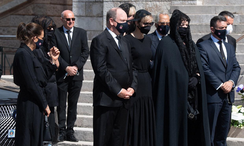 Funeral en Mónaco: Los Grimaldi despiden a su querida prima Elizabeth-Ann de Massy