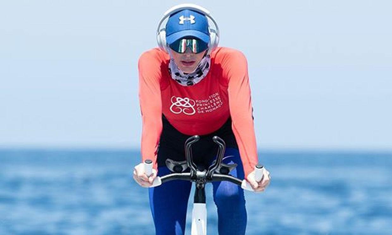 La impactante nueva imagen de Charlene de Mónaco en uno de sus entrenamientos