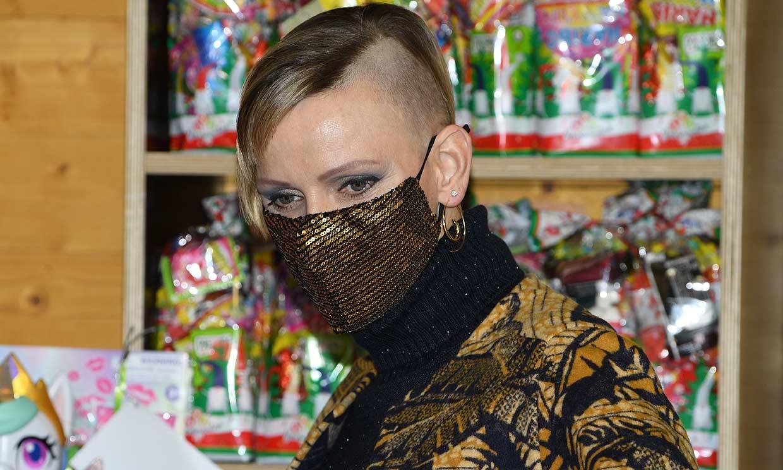 El inesperado y radical cambio de 'look' de Charlene de Mónaco, ¿la reconoces?