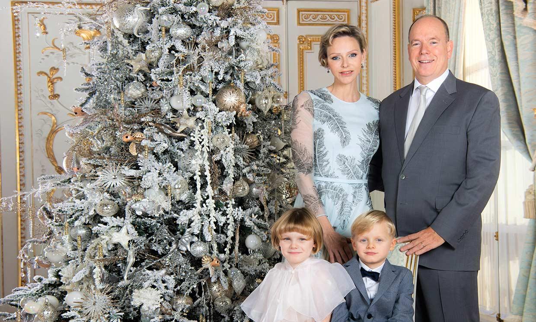 Jacques y Gabriella de Mónaco, protagonistas de un cuento de Navidad en su 'christmas'