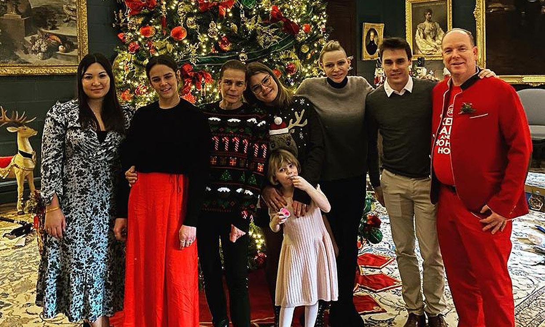¡Ho, ho, ho! Alberto de Mónaco, como nunca lo habías visto, en las fotos más navideñas con su familia