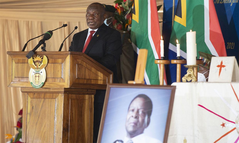Charlene de Mónaco viaja a Sudáfrica para asistir al funeral del rey de los zulúes