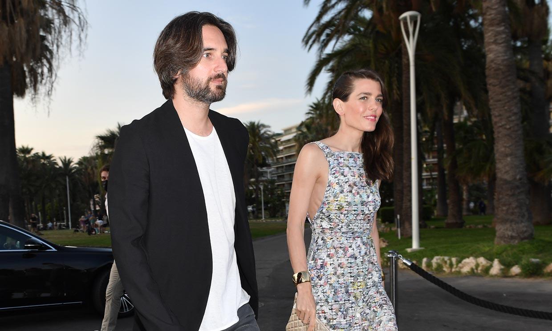 Carlota Casiraghi y su marido Dimitri Rassam reaparecen juntos en el festival de Cannes