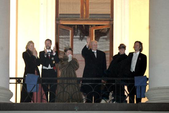 Broche de oro para clausurar las celebraciones del aniversario del rey Harald