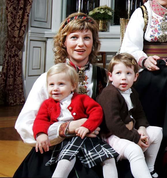 Marta Luisa de Noruega: 'El embarazo está siendo muy agradable'