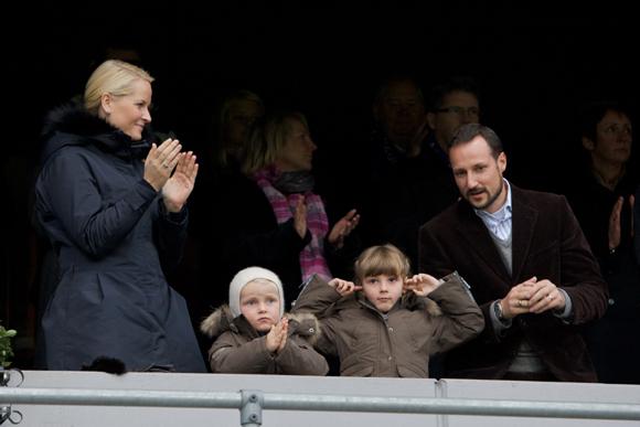 Ingrid Alejandra y Sverre de Noruega, dos pequeños príncipes expertos en protocolo