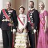 Nuevos retratos oficiales de los reyes y los príncipes herederos de Noruega