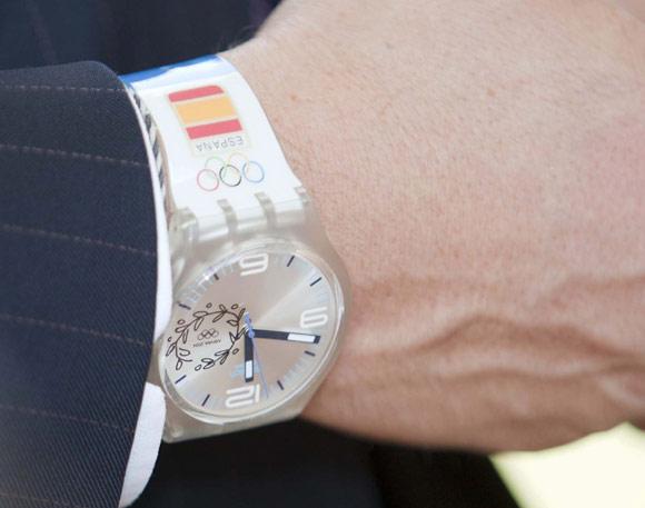 fotos oficiales e4b9d 32ff8 El reloj que marca las horas de Haakon de Noruega durante su ...
