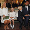 Haakon y Mette-Marit de Noruega celebran su décimo aniversario junto a los futuros papás Victoria y Daniel de Suecia