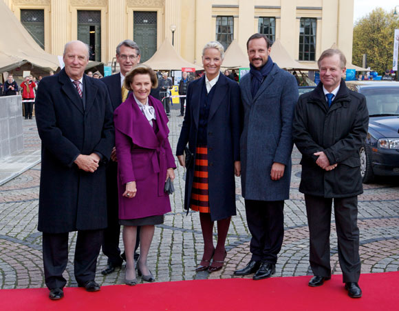 Mette-Marit de Noruega reaparece en público tras casi un mes de ausencia en el que ha realizado dos viajes de carácter privado