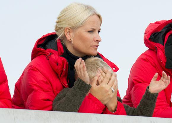 Ingrid Alejandra y Sverre de Noruega, los reyes de Holmenkollen