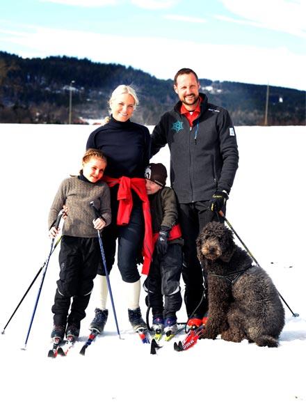 Ingrid Alejandra y Sverre de Noruega, los príncipes de las nieves