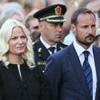 La Familia Real noruega llora al recordar a las víctimas del atentado en su primer aniversario