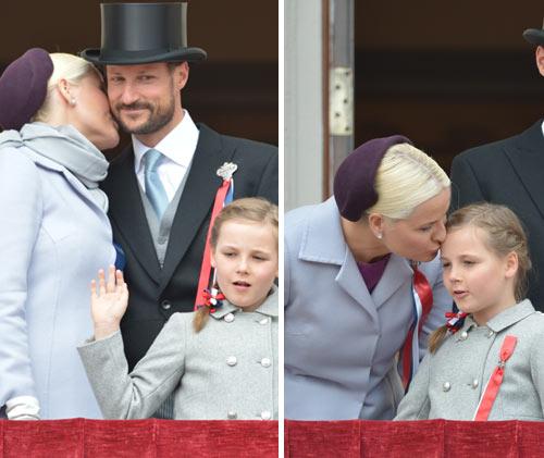 El príncipe Sverre debuta en el desfile infantil del Día Nacional de Noruega