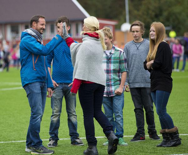 Haakon y Mette-Marit de Noruega: un equipo ganador en Vest-Agder