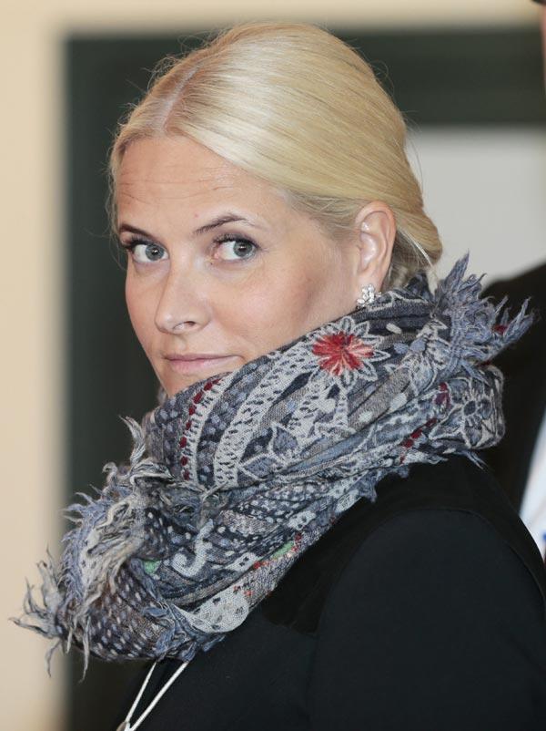 Mette-Marit de Noruega se reincorpora poco a poco a la vida oficial