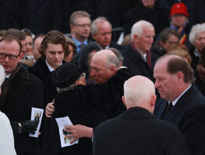 La Familia Real noruega llora la muerte de Johan Martin Ferner