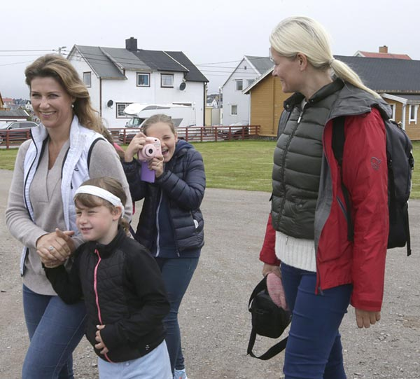 Ingrid Alexandra de Noruega se convierte en fotógrafa por vacaciones