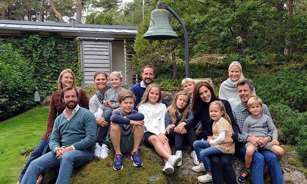 Haakon y Mette-Marit de Noruega invitan a los Príncipes herederos de su generación a su casa de verano
