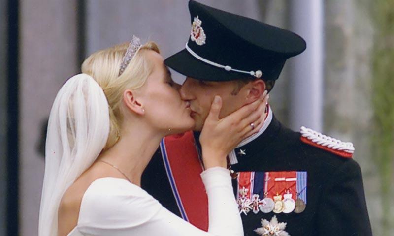 Haakon y Mette-Marit celebran el 15 aniversario de la boda que nadie quería