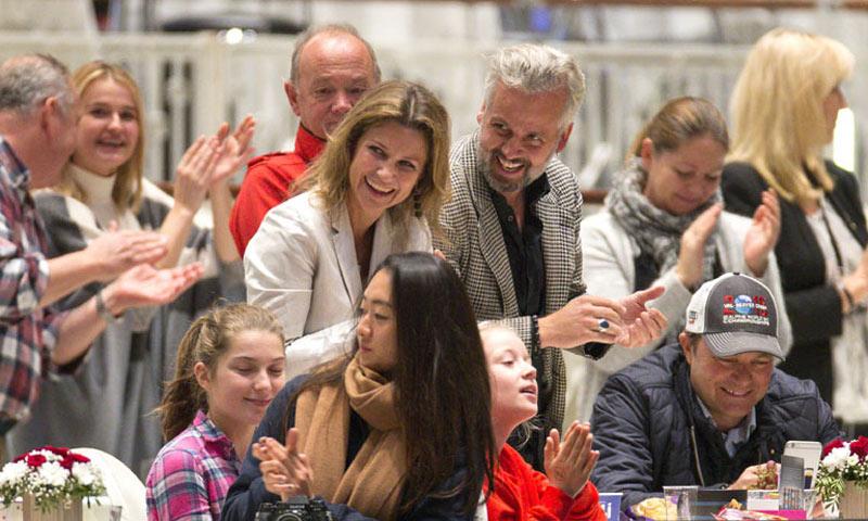 Marta Luisa de Noruega y Ari Behn, juntos tras su separación