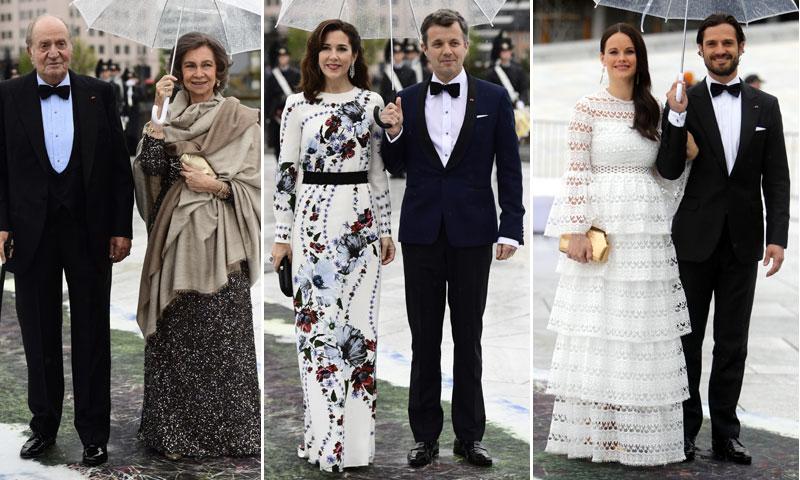 Don Juan Carlos y doña Sofía, de cumpleaños 'royal' días antes de sus bodas de esmeralda