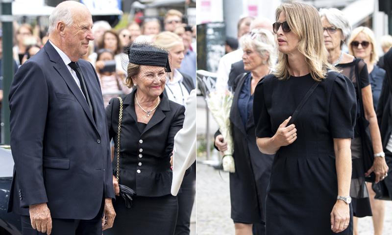 El reencuentro de Eva Sannum y la Familia Real noruega en Oslo