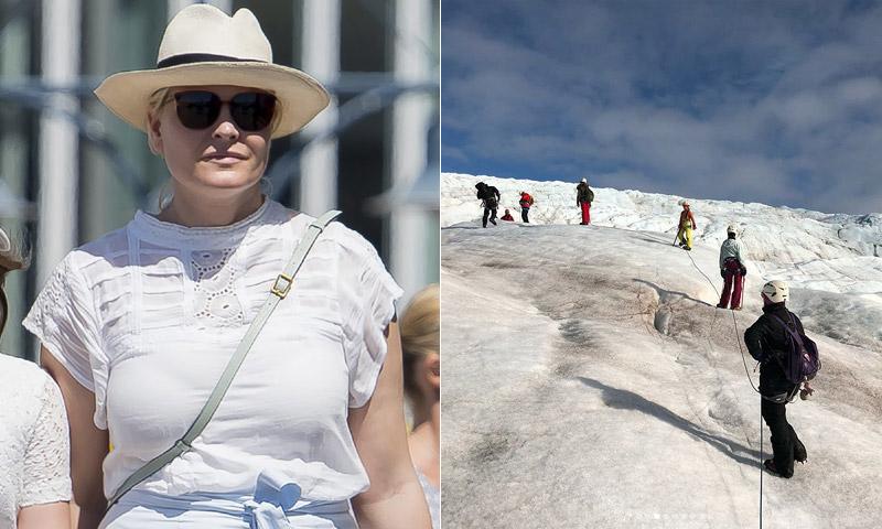 De la cálida costa española a los glaciares noruegos, un verano de contrastes para la princesa Mette-Marit