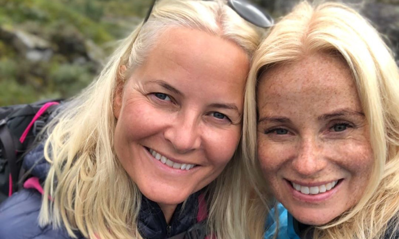 ¡Una princesa aventurera! Mette-Marit de Noruega disfruta de una escapada en plena naturaleza