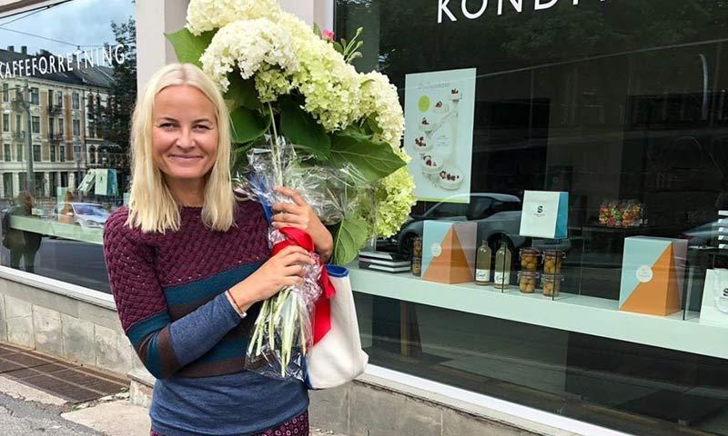 El divertido mensaje de Mette Marit de Noruega para agradecer las felicitaciones por su cumpleaños