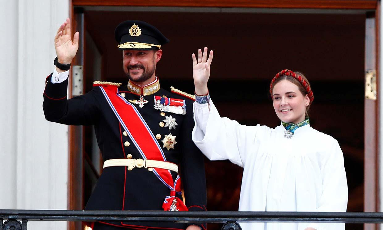 La princesa Ingrid Alexandra de Noruega celebra emocionada su confirmación