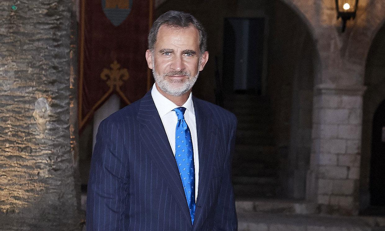 El rey Felipe VI, uno de los cinco padrinos de Ingrid de Noruega