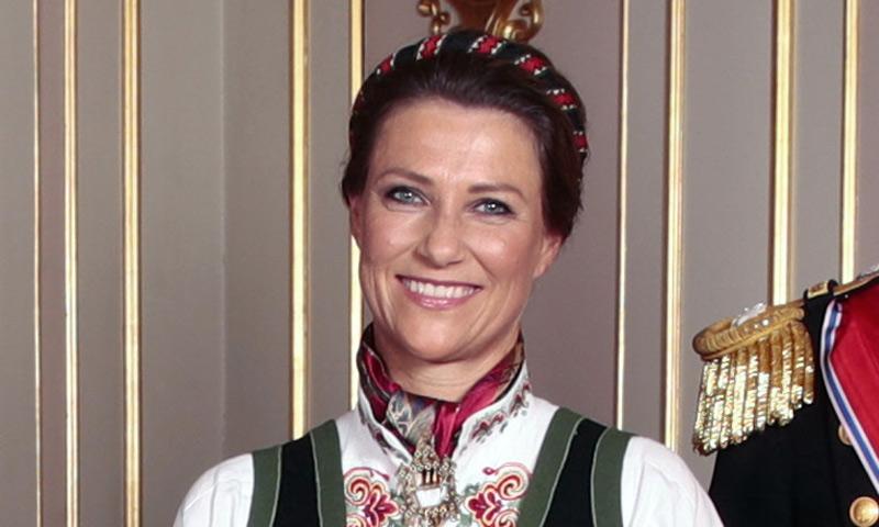 Marta Luisa de Noruega acude sin su novio a la confirmación de su sobrina Ingrid Alexandra