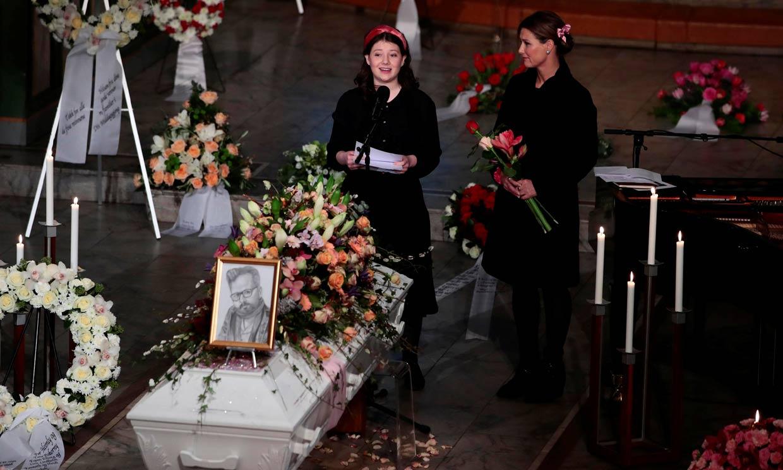 La hija mayor de Marta Luisa de Noruega y Ari Behn, premiada por su discurso en el funeral de su padre