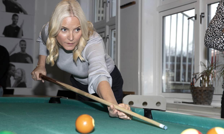 Mette-Marit de Noruega estrena agenda oficial de 2020 con una imagen de lo más deportiva