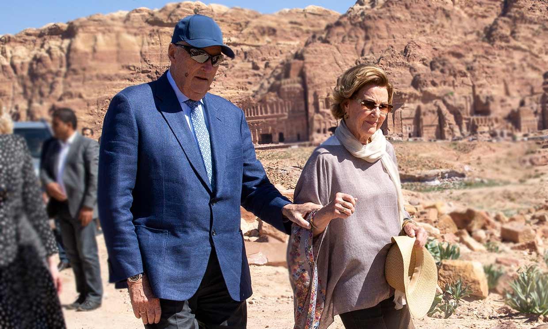 Harald y Sonia de Noruega, en cuarentena tras su viaje a Jordania