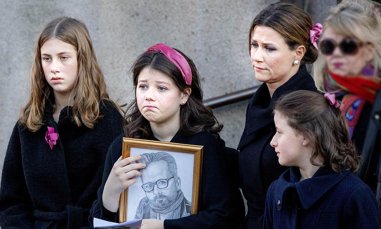 Marta Luisa de Noruega habla por primera vez de cómo están sus hijas tras la muerte de Ari Behn