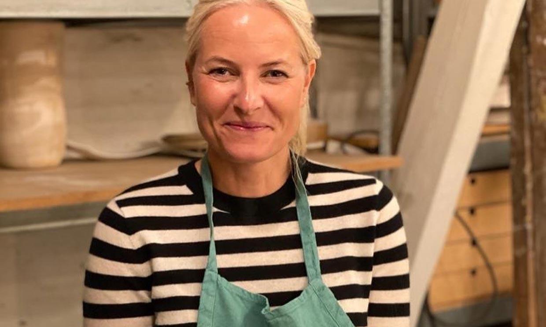 La actividad artesanal a la que Mette-Marit de Noruega se ha aficionado y que te va a sorprender