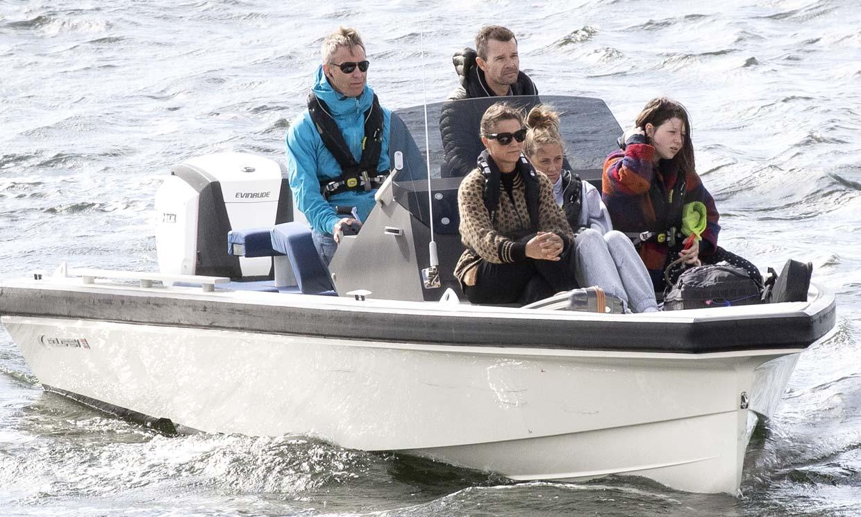 Marta Luisa de Noruega y sus hijas disfrutan, sin Durek, de sus ¿últimas? vacaciones en Blocksberg