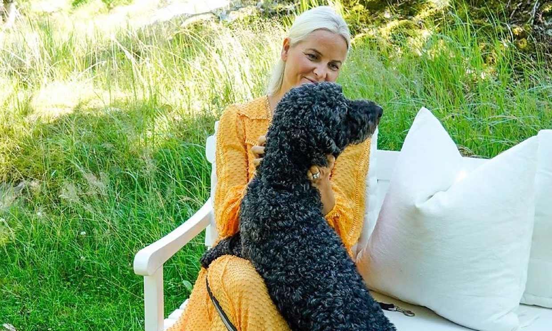 Mette Marit de Noruega deja ver su lado más tierno el día de su cumpleaños