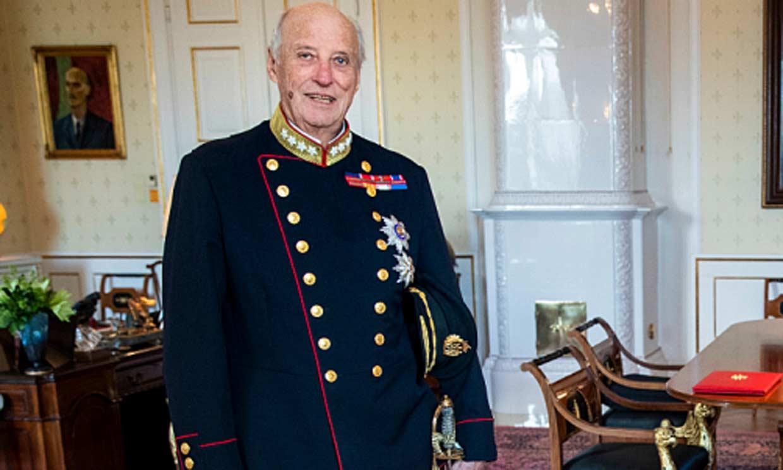 Primeras imágenes de Harald de Noruega tras retomar sus compromisos oficiales