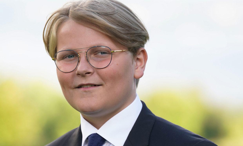 Quinto de la princesa Leonor y amante del deporte, Sverre Magnus de Noruega cumple 15 años