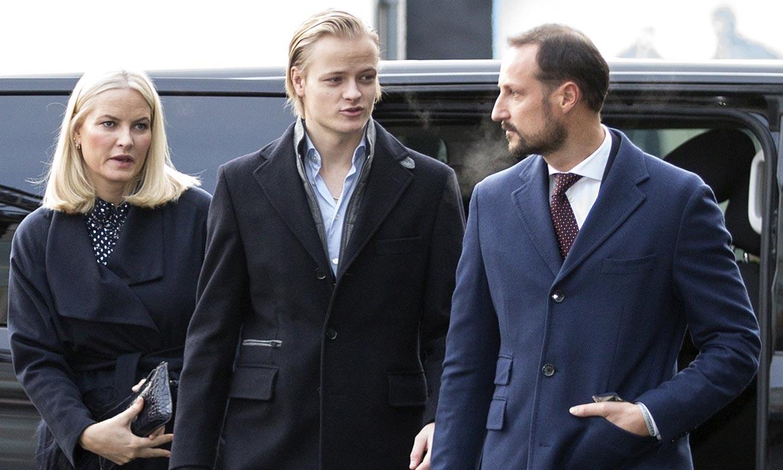 La Familia Real noruega incluye, por primera vez, a la novia de Marius Borg en el 'christmas' navideño