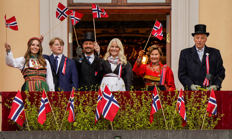 La princesa Ingrid acapara toda la atención en el Día Nacional de Noruega