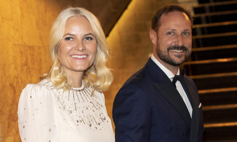El 'selfie' de Haakon y Mette-Marit de Noruega para celebrar sus 20 años de casados