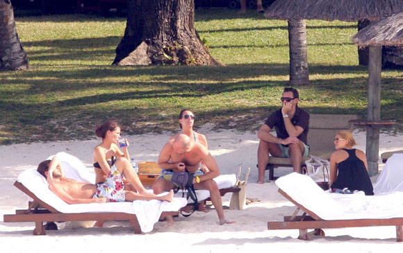 Magdalena y Carlos Felipe de Suecia, días de descanso en Isla Mauricio