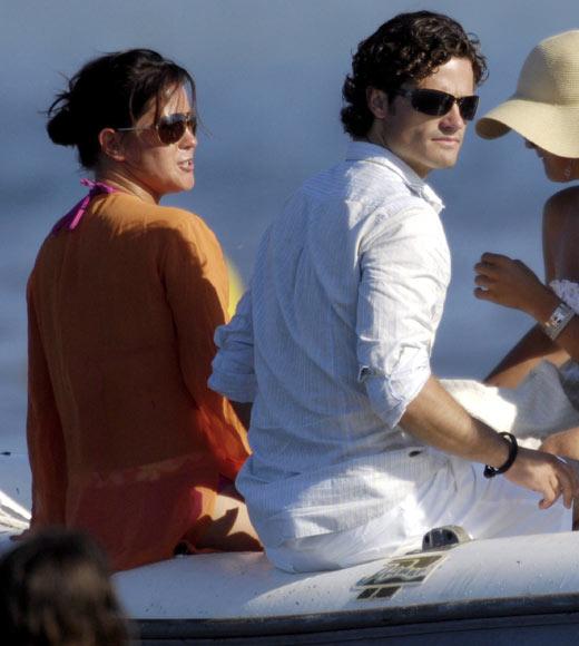 El príncipe Carlos Felipe y su novia, Emma Pernald, zanjan los rumores de ruptura con una nueva aparición